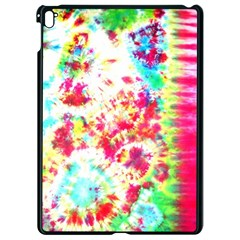 Pattern Decorated Schoolbus Tie Dye Apple Ipad Pro 9 7   Black Seamless Case