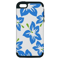 Hibiscus Wallpaper Flowers Floral Apple Iphone 5 Hardshell Case (pc+silicone)
