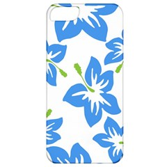 Hibiscus Wallpaper Flowers Floral Apple Iphone 5 Classic Hardshell Case by Sapixe