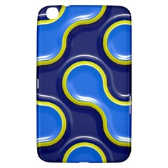 Pattern Curve Design Seamless Samsung Galaxy Tab 3 (8 ) T3100 Hardshell Case