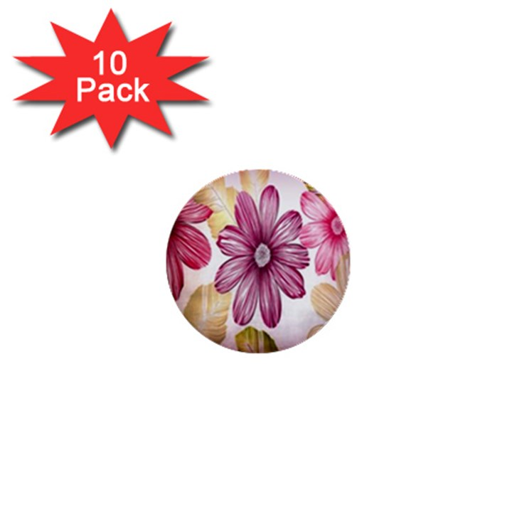 Print Fabric Pattern Texture 1  Mini Buttons (10 pack)