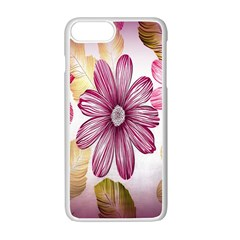 Print Fabric Pattern Texture Apple Iphone 7 Plus Seamless Case (white)
