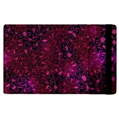 Retro Flower Pattern Design Batik Apple Ipad 3/4 Flip Case