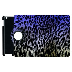 Fabric Animal Motifs Apple Ipad 2 Flip 360 Case