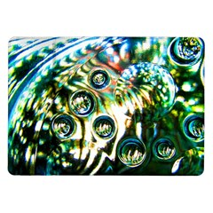 Dark Abstract Bubbles Samsung Galaxy Tab 10 1  P7500 Flip Case