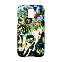 Dark Abstract Bubbles Samsung Galaxy S5 Hardshell Case