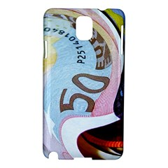 Abstract Currency Background Samsung Galaxy Note 3 N9005 Hardshell Case