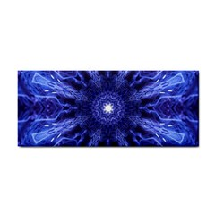 Tech Neon And Glow Backgrounds Psychedelic Art Hand Towel