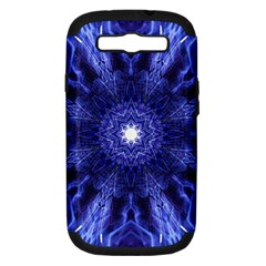 Tech Neon And Glow Backgrounds Psychedelic Art Samsung Galaxy S Iii Hardshell Case (pc+silicone) by Jojostore