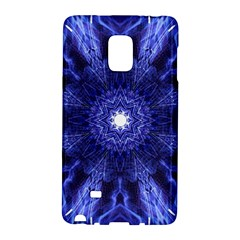 Tech Neon And Glow Backgrounds Psychedelic Art Samsung Galaxy Note Edge Hardshell Case