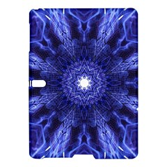 Tech Neon And Glow Backgrounds Psychedelic Art Samsung Galaxy Tab S (10 5 ) Hardshell Case  by Jojostore