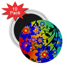 Abstract Background Backdrop Design 2 25  Magnets (10 Pack)