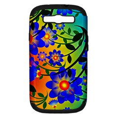 Abstract Background Backdrop Design Samsung Galaxy S Iii Hardshell Case (pc+silicone) by Jojostore