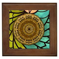 Kaleidoscope Dream Illusion Framed Tiles by Jojostore