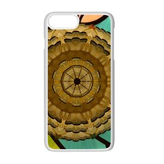 Kaleidoscope Dream Illusion Apple Iphone 7 Plus Seamless Case (white) by Jojostore