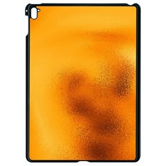 Blurred Glass Effect Apple Ipad Pro 9 7   Black Seamless Case