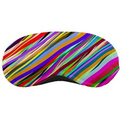 Multi Color Tangled Ribbons Background Wallpaper Sleeping Masks by Jojostore
