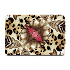 Animal Tissue And Flowers Plate Mats by Jojostore
