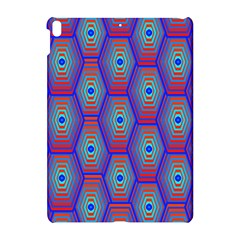 Red Blue Bee Hive Pattern Apple Ipad Pro 10 5   Hardshell Case