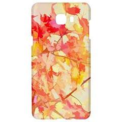 Monotype Art Pattern Leaves Colored Autumn Samsung C9 Pro Hardshell Case  by Jojostore