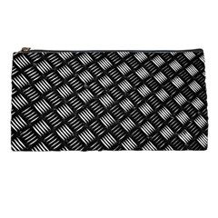 Abstract Of Metal Plate With Lines Pencil Cases by Jojostore