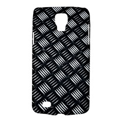 Abstract Of Metal Plate With Lines Samsung Galaxy S4 Active (i9295) Hardshell Case