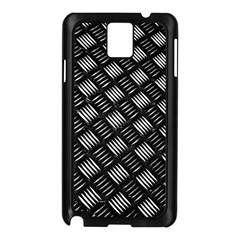 Abstract Of Metal Plate With Lines Samsung Galaxy Note 3 N9005 Case (black) by Jojostore
