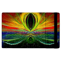 Future Abstract Desktop Wallpaper Apple Ipad 2 Flip Case by Jojostore