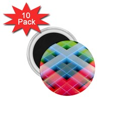 Graphics Colorful Colors Wallpaper Graphic Design 1 75  Magnets (10 Pack)