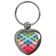Graphics Colorful Colors Wallpaper Graphic Design Key Chains (heart)