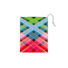 Graphics Colorful Colors Wallpaper Graphic Design Drawstring Pouch (xs) by Jojostore
