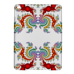 Fractal Kaleidoscope Of A Dragon Head Ipad Air 2 Hardshell Cases by Jojostore