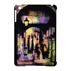 Street Colorful Abstract People Apple Ipad Mini Hardshell Case (compatible With Smart Cover)