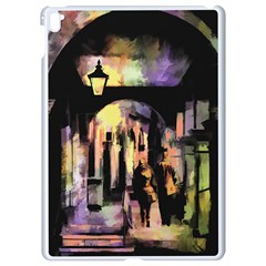 Street Colorful Abstract People Apple Ipad Pro 9 7   White Seamless Case
