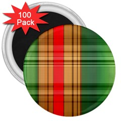 Seamless Pattern Design Tiling 3  Magnets (100 Pack) by Sapixe
