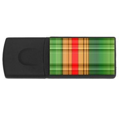Seamless Pattern Design Tiling Rectangular Usb Flash Drive by Sapixe