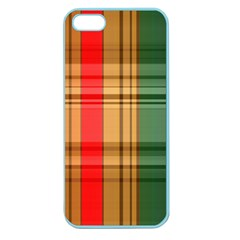 Seamless Pattern Design Tiling Apple Seamless Iphone 5 Case (color)