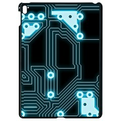 Seamless Repeat Repetitive Apple Ipad Pro 9 7   Black Seamless Case by Sapixe