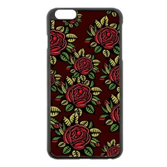 Seamless Tile Background Abstract Apple Iphone 6 Plus/6s Plus Black Enamel Case