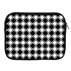 Square Diagonal Pattern Seamless Apple Ipad 2/3/4 Zipper Cases by Sapixe
