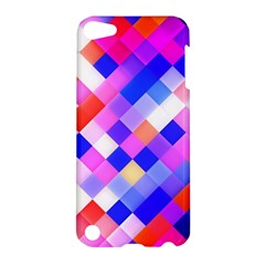 Squares Pattern Geometric Seamless Apple Ipod Touch 5 Hardshell Case