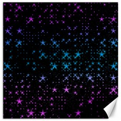 Stars Pattern Seamless Design Canvas 20  X 20  by Sapixe