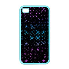 Stars Pattern Seamless Design Apple Iphone 4 Case (color)