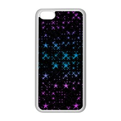 Stars Pattern Seamless Design Apple Iphone 5c Seamless Case (white)