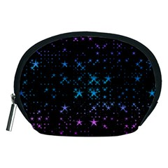 Stars Pattern Seamless Design Accessory Pouch (medium) by Sapixe