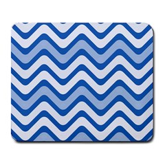 Waves Wavy Lines Pattern Design Large Mousepads