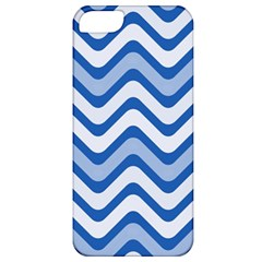 Waves Wavy Lines Pattern Design Apple Iphone 5 Classic Hardshell Case
