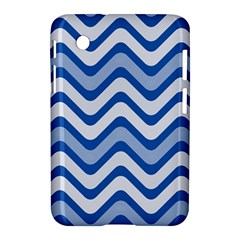Waves Wavy Lines Pattern Design Samsung Galaxy Tab 2 (7 ) P3100 Hardshell Case  by Sapixe