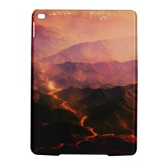 Volcanoes Magma Lava Mountains Ipad Air 2 Hardshell Cases by Sapixe