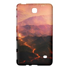Volcanoes Magma Lava Mountains Samsung Galaxy Tab 4 (8 ) Hardshell Case  by Sapixe